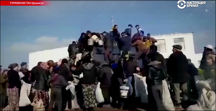 кризис в Туркменистане
