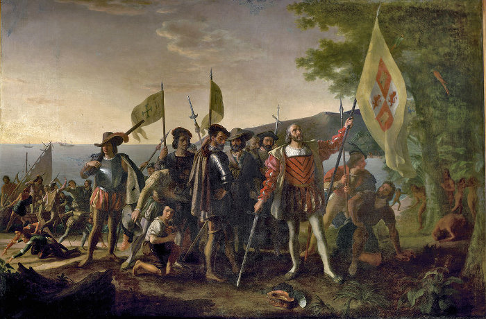christopher columbus how did he impact the new world Brief biography of christopher columbus in the columbian exchange christopher columbus in the european conquest of the new world he made three.