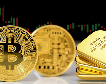 золоты и биткойны