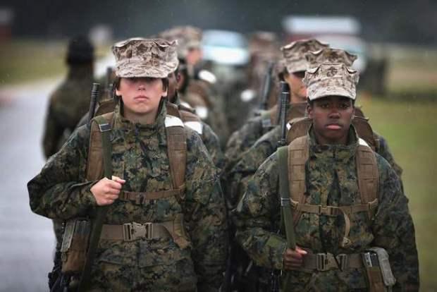 Зрылие женщини в армии