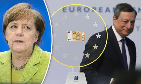 Меркель и Драги