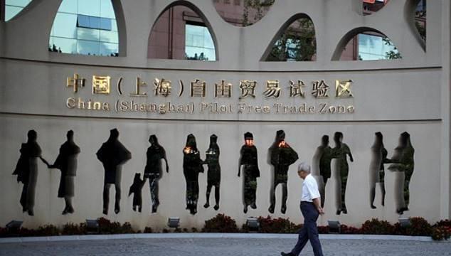 Свободная торговая зона Шанхай
