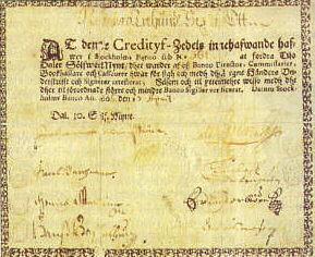 Судьба бумажных денег