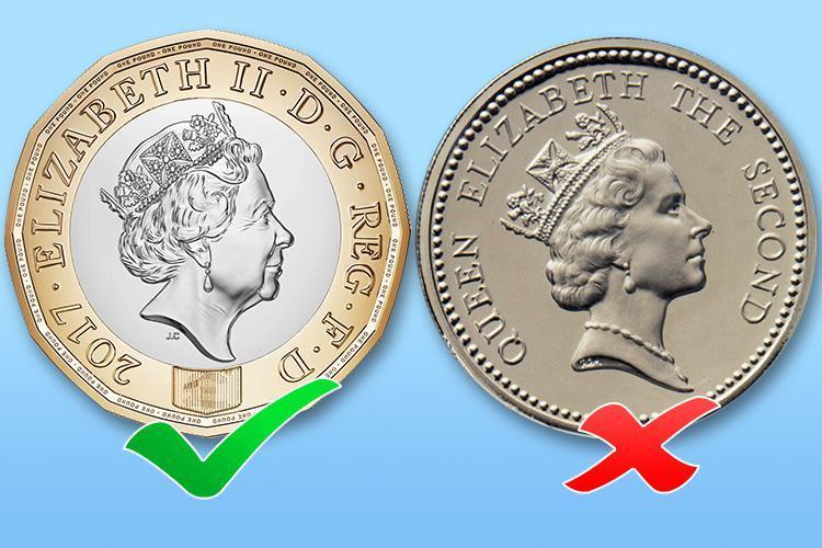 Новая британская монета с номиналом в 1 фунт – «самая безопасная монета в мире»?