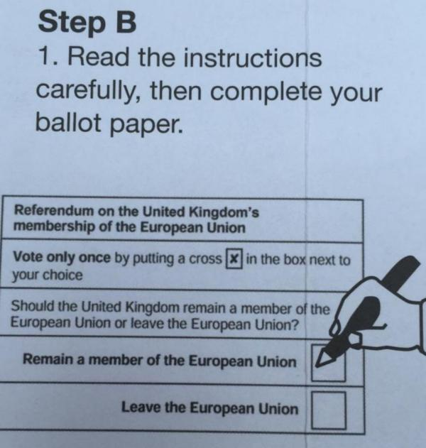 Почтовое мошенничество на британском референдуме по выходу из Евросоюза