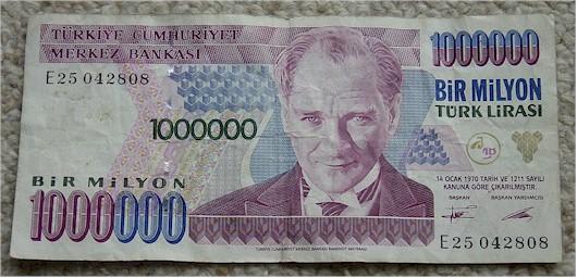 Гиперинфляция в Турции